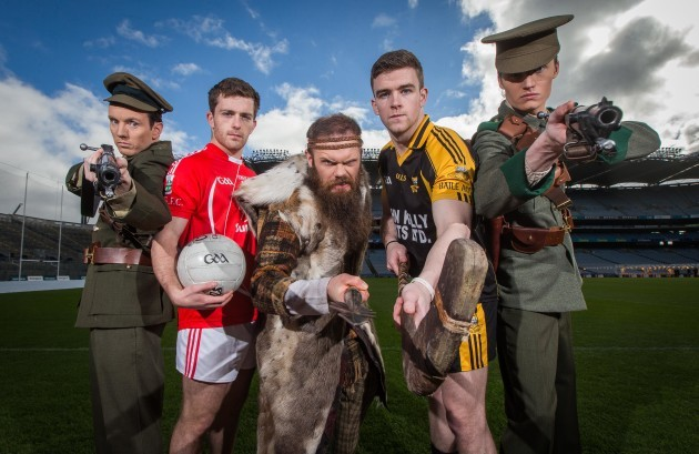 Adam Cahill, Niall Kelly, Andrew McClay, Tony Kelly and William Northey