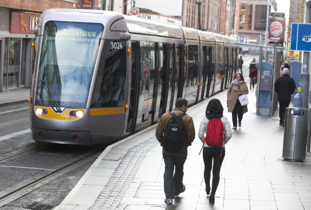 10/2/2016. Luas Tram Strikes