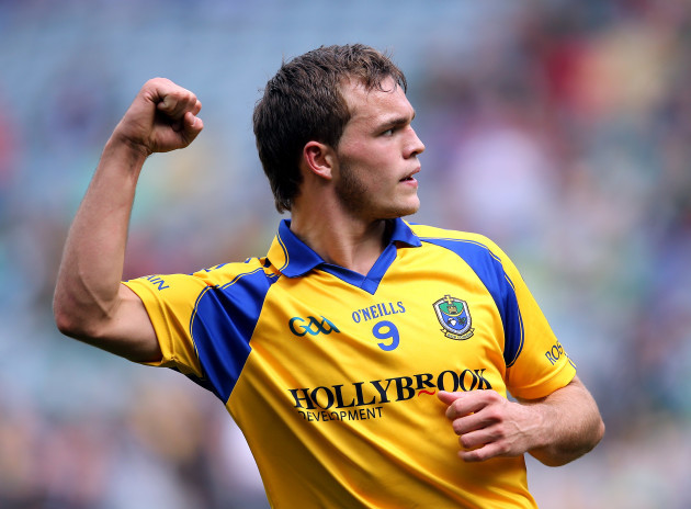 Ultan Harney celebrates scoring
