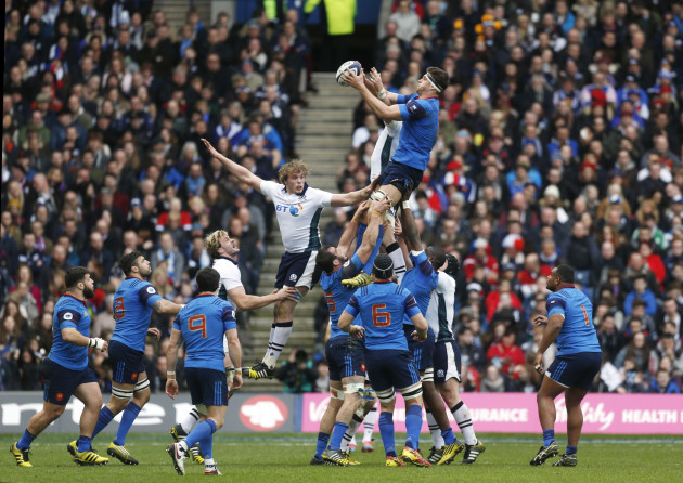 Scotland v France - 2016 RBS Six Nations - BT Murrayfield