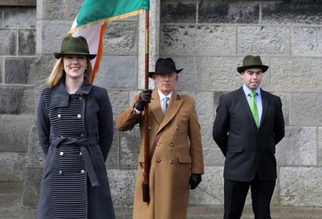 21/4/2013. Fianna Fail 1916 Easter Rising Commemorations