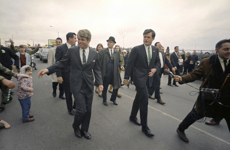 St Patricks Day Kennedys 1968