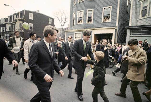 St Patricks Day Kennedys 1968