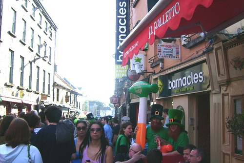 Galway - St Patrick's Day / Barnacles / Galway Hostel