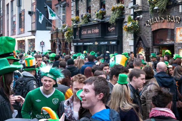 St. Patrick's Day, Dublin