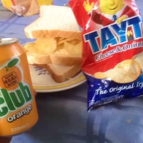 #food #irish #tayto #cluborange #nsw #Australia #foodfromhome #taytosandwich #oz #lithgow