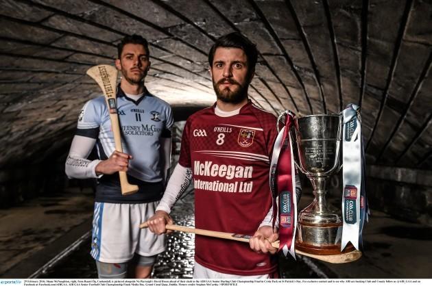 AIB GAA Senior Club Championship Finals #TheToughest Media Day