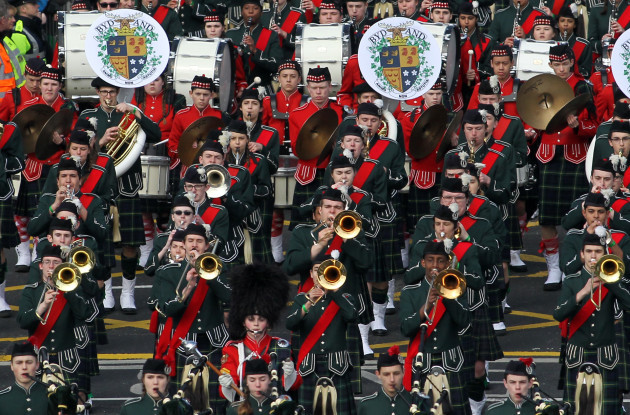 17/03/2016. St Patricks Day Parade - Dublin. Pictu