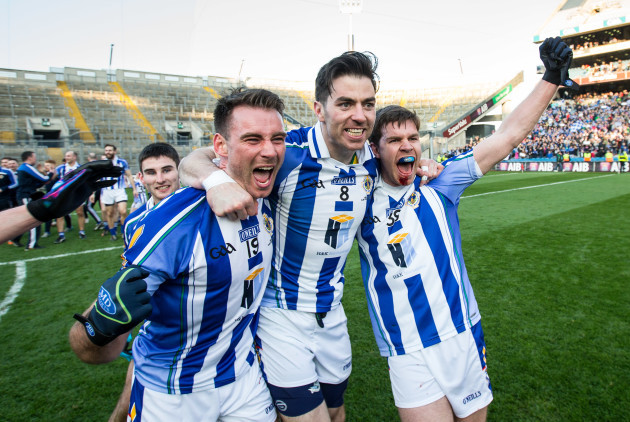 Shane Durkin, Michael Darragh Macauley and Darragh Nelson