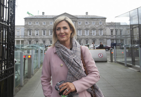 3/3/2016. Election 2016 - Dail Arrivals. Members o
