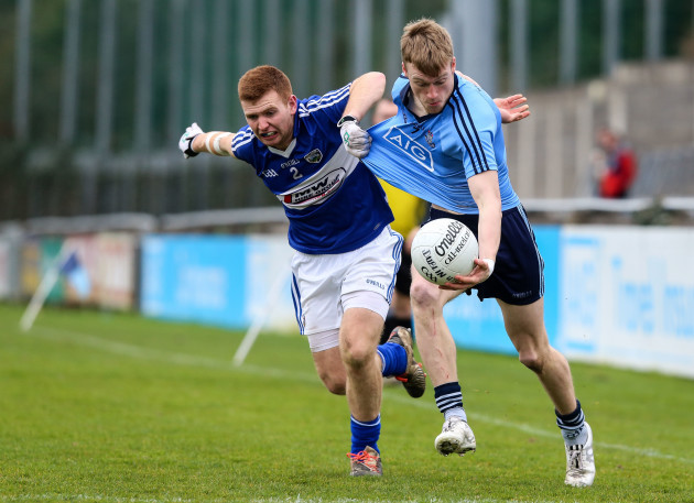 Darragh Spillane with Liam Knowles