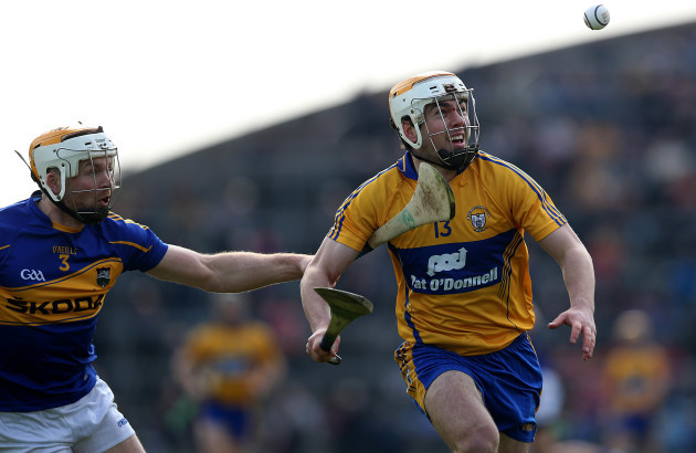 Conor McGrath with Padraic Maher