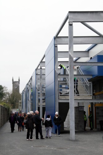 A view of the developed stand at Cusack Park