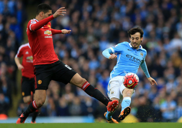 Manchester City v Manchester United - Barclays Premier League - Etihad Stadium