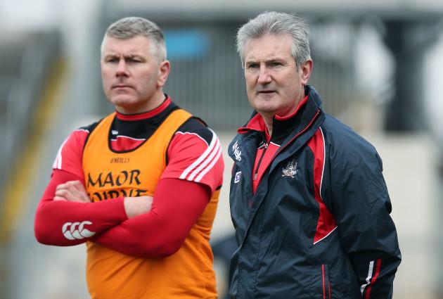 Kieran Kingston and Diarmuid O'Sullivan