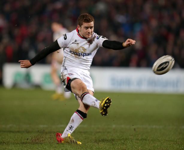 Paddy Jackson kicks