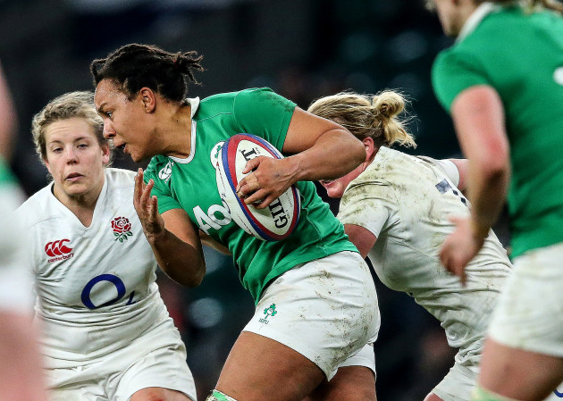 Sophie Spence on the attack