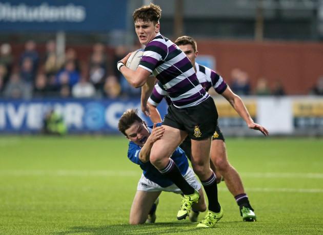 Sam Dardis gets past Cian Buckley