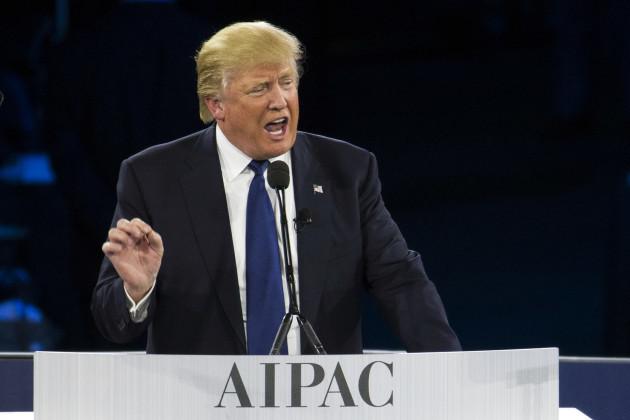 GOP 2016 Trump AIPAC