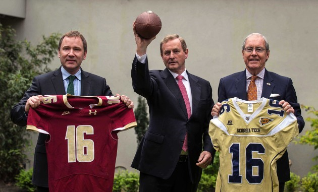 Stephen Kavanagh,Enda Kenny and Kevin O'Malley