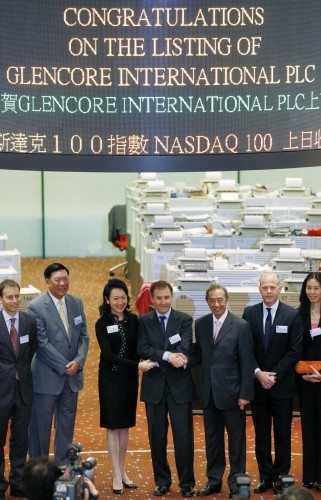 Hong Kong Glencore IPO