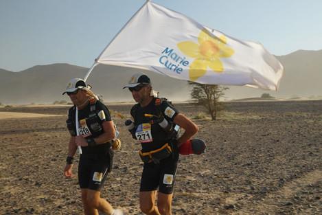 Sir Ranulph Fiennes charity race