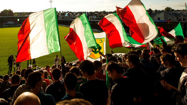 A view of fans at Turners Cross
