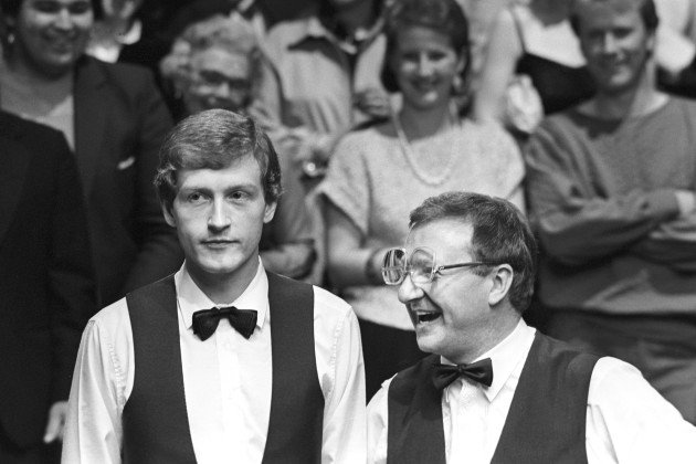 Snooker - Embassy World Professional Snooker Championship 1985 - Final - The Crucible Theatre