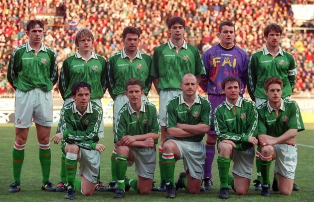 Ireland Team 25/3/1998