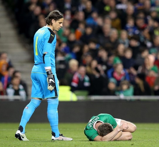 Kevin Doyle down injured