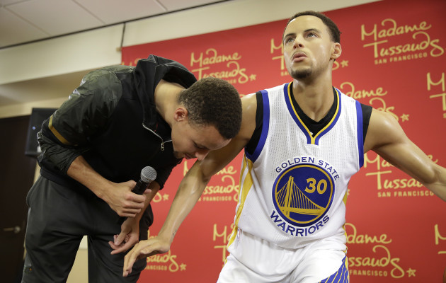 Curry Wax Figure Basketball