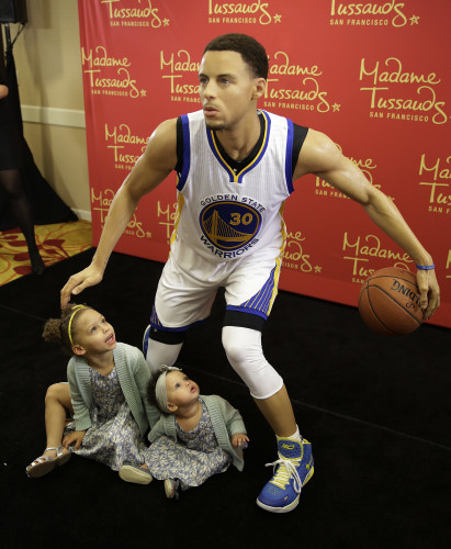 Curry Wax Figure Basketball