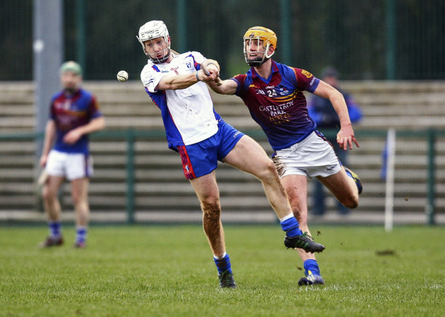 Cian Lynch in action against Barry Heffernan