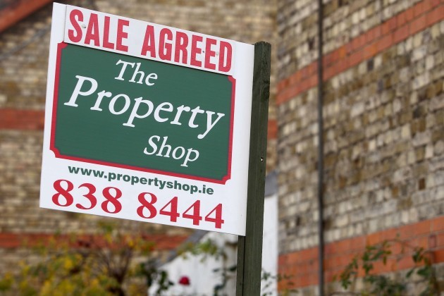 File Photo New figures from the Central Statistics Office shows that residential property prices on a nationwide basis rose by 1.3% in September.