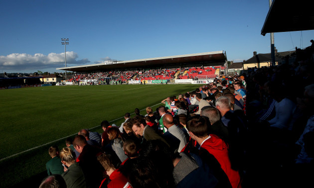General view of the Shed End at Turners Cross