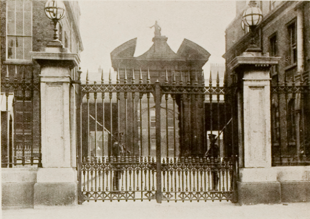 Dublin Castle gates