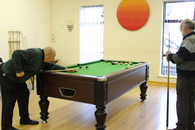 Men's Shed - pool