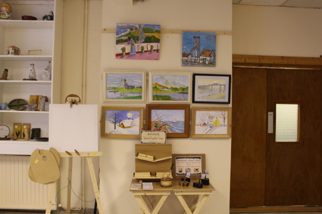Men's Shed - paintings