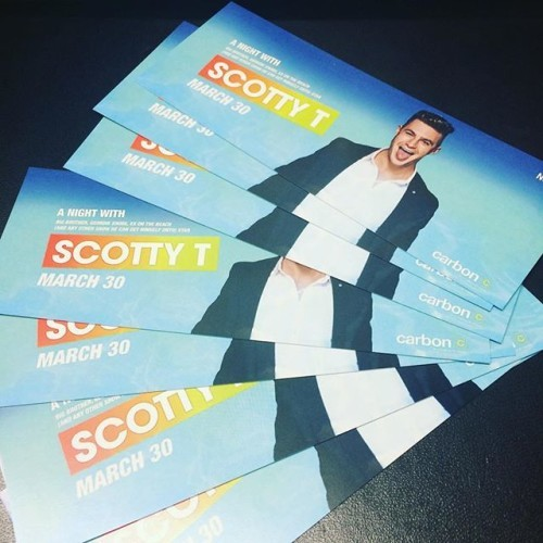 Tickets are now on sale to see @scottgshore #Carbon #GeordieShore #Nightclub #Galway