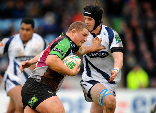 Rugby Union - Heineken Cup - Pool 5 - Harlequins v Sale Sharks - Twickenham Stoop