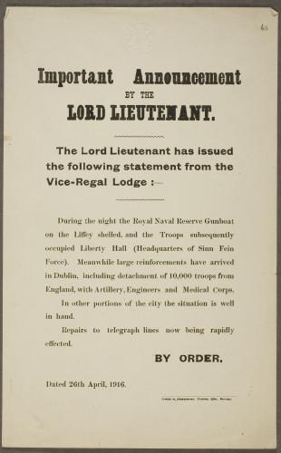 Lord Lieutenant announcement