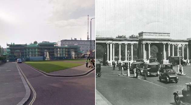 5098f7ca1e9 As it was  These photos compare London as it is now with how it was ...