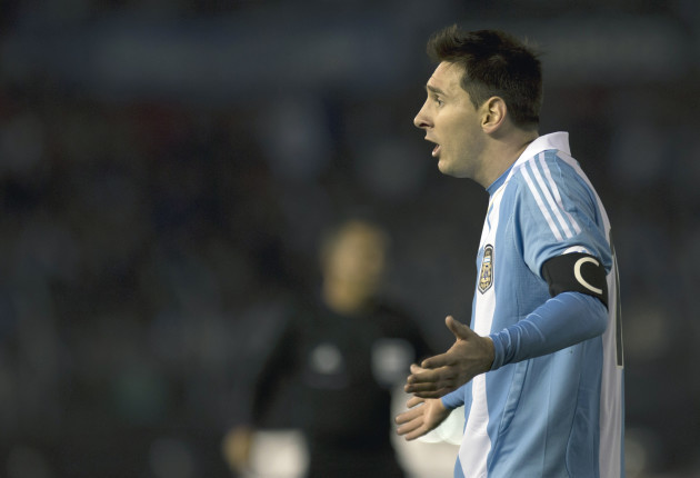 Argentina Colombia Soccer WCup