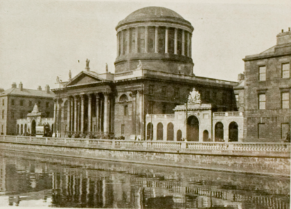 Four Courts view