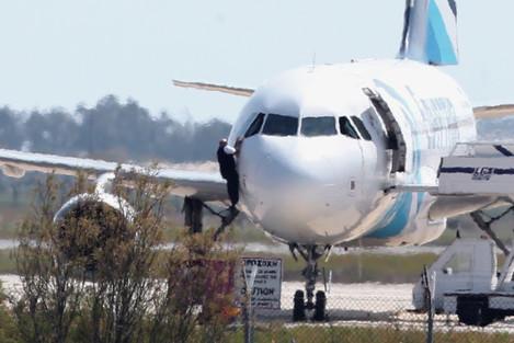 Cyprus Egypt Hijacked Plane