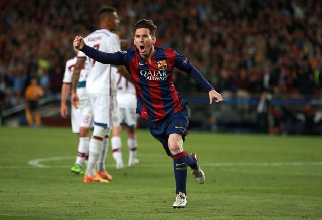 Soccer - UEFA Champions League - Semi Final - First Leg -Barcelona v Bayern Munich - Nou Camp