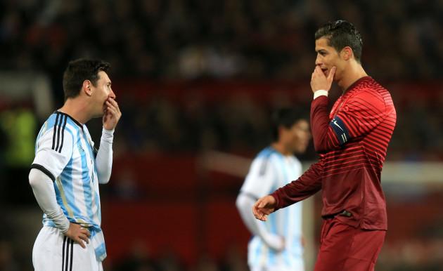 Soccer - International Friendly - Argentina v Portugal - Old Trafford