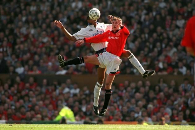 Soccer - English Premier League - Manchester United v Leeds United - Blackburn