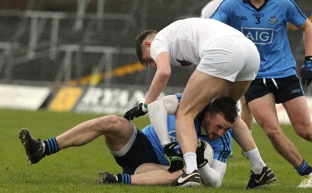 Killian Deeley under pressure