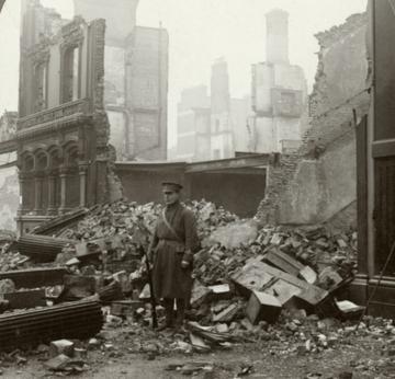 Ruins in  Dublin